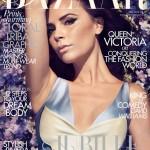 2012年5月号の英国版・ハーパース・バザー(harper's bazaar)の表紙モデルにヴィクトリア・ベッカム(Victoria-Beckham)