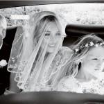 ケイト・モスの童話のようなロマンチックあふれる結婚式パート1