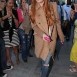 リンジー・ローハン(Lindsay Lohan) in MiuMiu