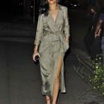 ディナーに出かけるリアーナ(Rihanna)