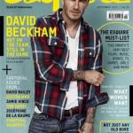 ベッカム、「エスクァイア(Esquire)」表紙に。