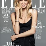 ハイディ・クルム(Heidi Klum):エル(ELLE)の4月号