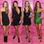 『ヴィクトリアズ・シークレット・ファッションショー2012』のアフターパーティに出席したエンジェルズ