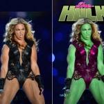 ビヨンセ、アメリカで話題『she hulk』