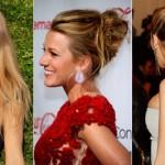 『ヘアスタイル髪型:ロングヘア』ブレイク・ライヴリー、ヘアアレンジ・ヘアスタイル