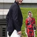 デビッド・ベッカム、『ルイ・ヴィトン』2014年春夏メンズコレクションに出席