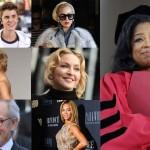 2013年フォーブス誌『最も影響力のあるセレブ・The Celebrity 100』を発表 一位は?