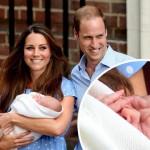 ロイヤルベビーお披露目!ウィリアム王子「彼は僕より髪が多い。ありがとう神様」