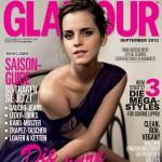 エマ・ワトソン、独『GLAMOUR・グラマー』誌9月号の表紙を飾る!