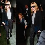 ケイト・モス、娘のライラちゃんとファッションショーに出席