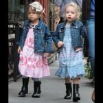 サラ・ジェシカ・パーカー、双子の娘ちゃんの通学ファッション