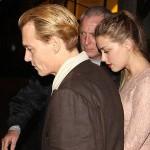 ジョニー・デップ、恋人アンバー・ハードとロンドンでディナーデート