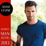 アダム・レヴィーン、2013年最もセクシーな男に!