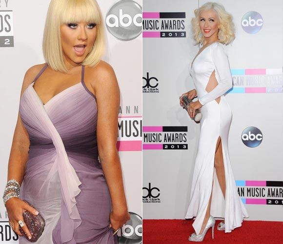 Christina-Aguilera-before-after