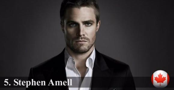 2013-Most Handsome-top5-Stephen Amell