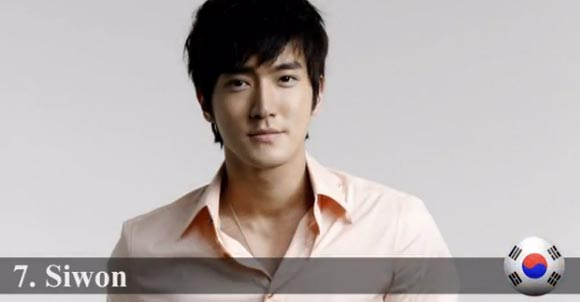 2013-Most Handsome-top7-Choi Siwon