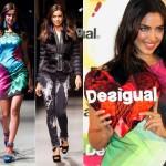 イリーナ・シェイク、『デシグアル(Desigual)』のファッションショーに登場