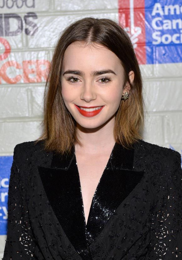 Lily-Collins-Stands-Up-Cancer2