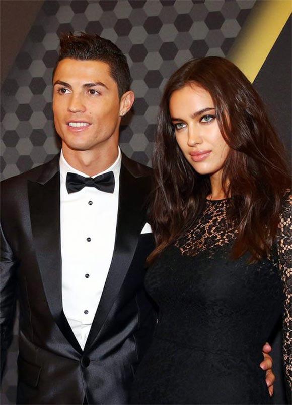 Ronaldo-Shayk-Ballon-dOr 2013
