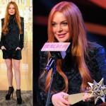 リンジー・ローハン、『今年のファッションのアイドル賞』を受賞
