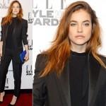 バーバラ・パルヴィン、「エル・スタイル・アワード(Elle Style Awards)」に出席