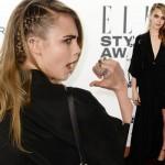 カーラ・デルヴィーニュ、「エル・スタイル・アワード(Elle Style Awards)」に出席