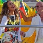 ジェニファー・ロペス、『2014FIFAワールドカップ ブラジル大会』の公式テーマ曲のMV撮影