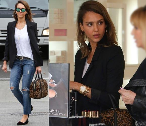 Jessica-Alba-Shopping