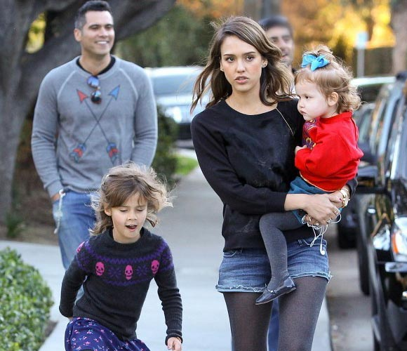 Jessica-Alba-family
