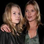 ケイト・モス、モデルの妹と『TOPSHOP』コレクションに出席
