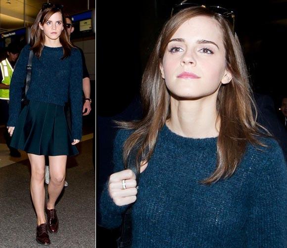 Emma-Watson- LAX