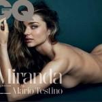 ミランダ・カー、男性誌『GQ』でヌードを披露!