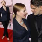 スカーレット・ヨハンソン、婚約者と『Cesar Film Awards 2014』に出席