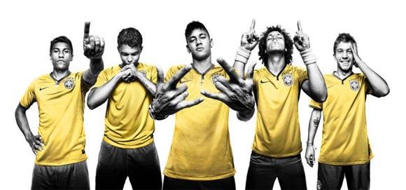 2014-World-Cup uniforms-brazil-nike