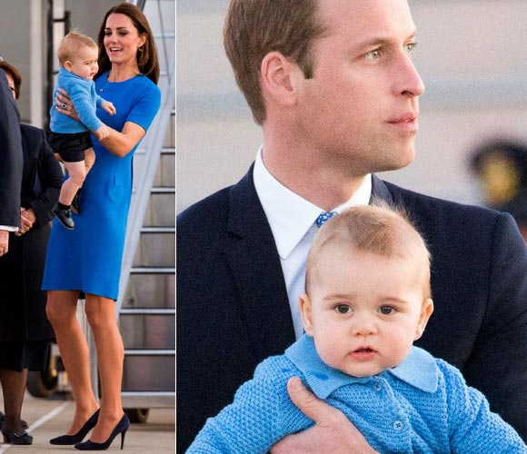 kate-middleton-william-George-prince-Australia