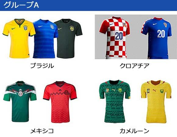 world-cup 2014-group-A-uniform