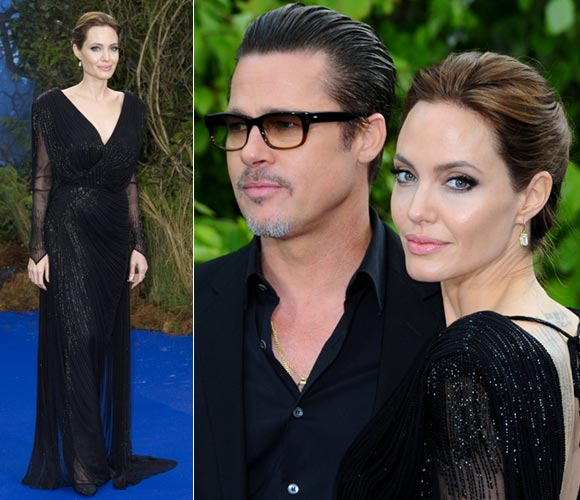 Angelina-Jolie-Brad-Pitt-Maleficent-Premieres-London