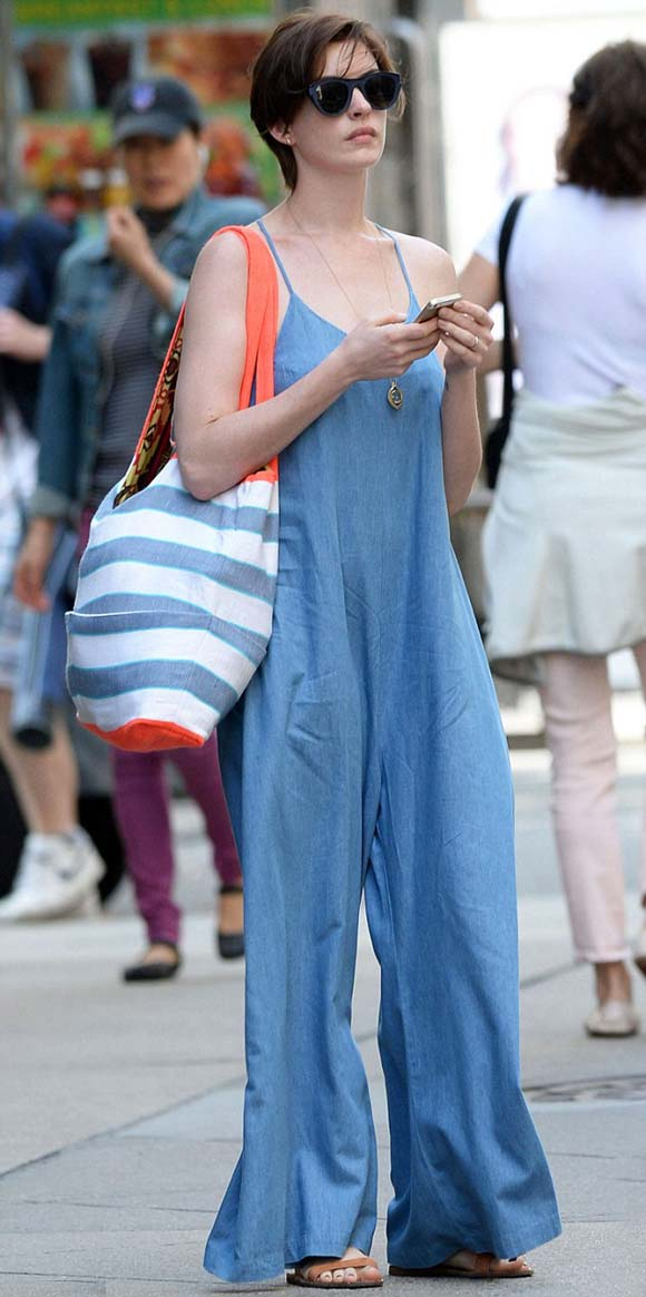 Anne-Hathaway -outfit-jumpsuit-2014