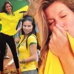 『2014ブラジルワールドカップ』豪華なサポーター★ブラジル出身のヴィクトリアズ・シークレット・エンジェルズ