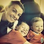 『2014ブラジルワールドカップ』ウェイン・ルーニーの家族がブラジル入り!