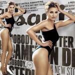 キャメロン・ディアス、『エスクワイア(Esquire)』誌で抜群をスタイルを披露!
