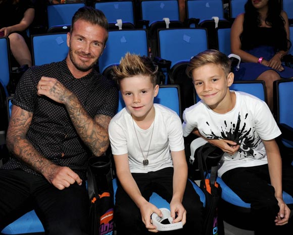 David,Beckham,romeo,cruz,Nickelodeon,Kids,Choice,2014,
