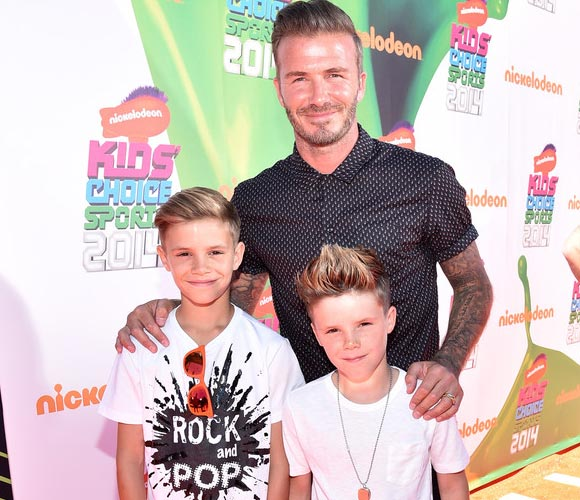 David-Beckham-romeo-cruz-Nickelodeon-Kids-Choice-2014