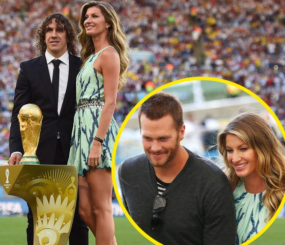 Gisele-Bundchen-Tom-Brady-Carles-Puyol-2014-worldcup