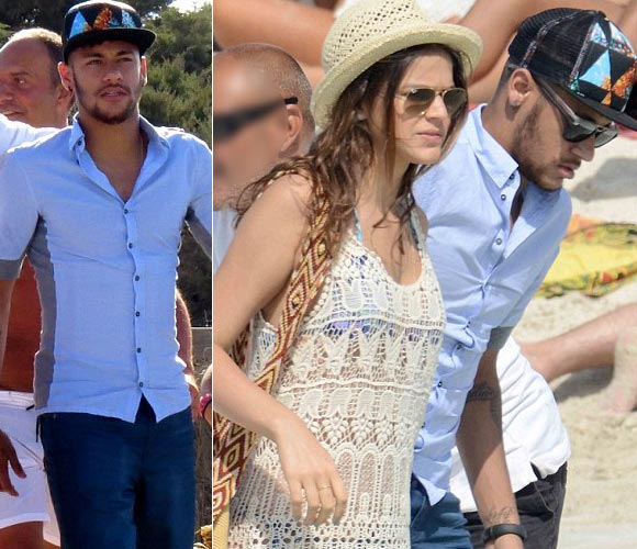 Neymar- girlfriend-Bruna -2014