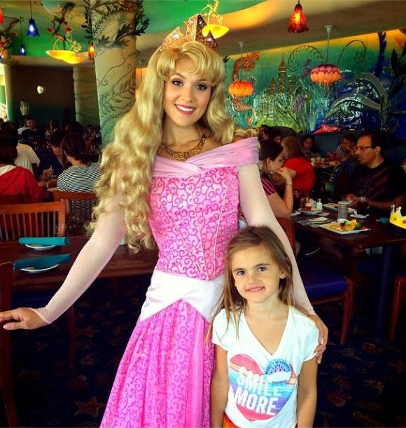 Alessandra-Ambrosio-Anja-sixth birthday-2014-03