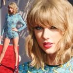 テイラー・スウィフト、ボディスーツで美脚披露!#MTV VMA 2014