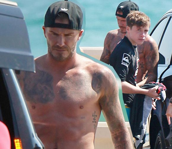 david-beckham-shirtless-sons-2014