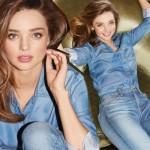 ミランダ・カー、人気デニムブランドのモデルに!
