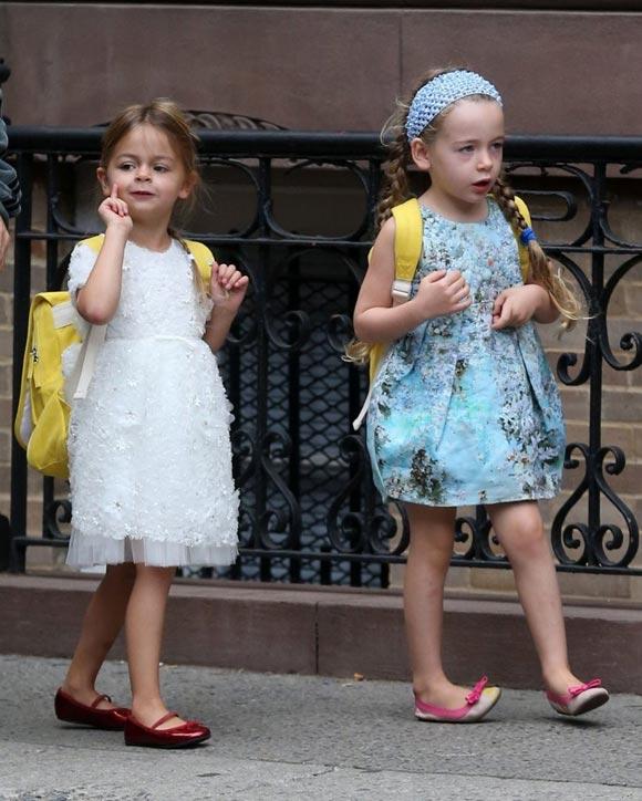 Sarah-Jessica- Parker-daughter-twins-2014-05